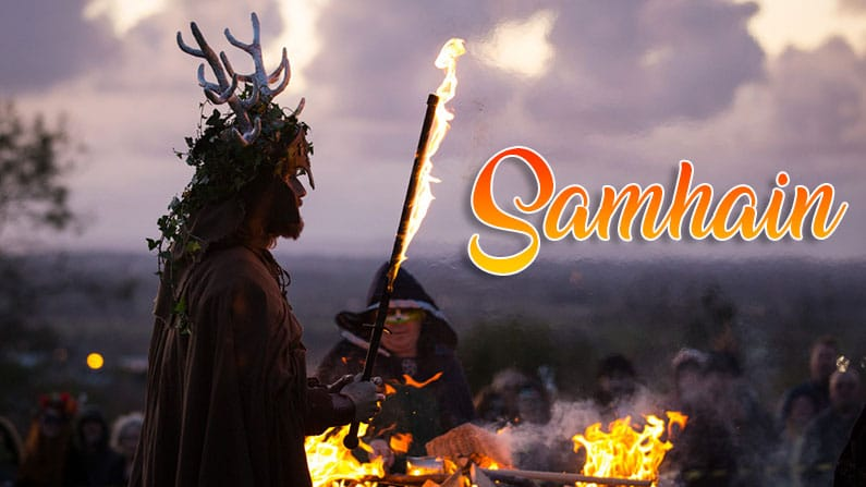 la fiesta de Samhain